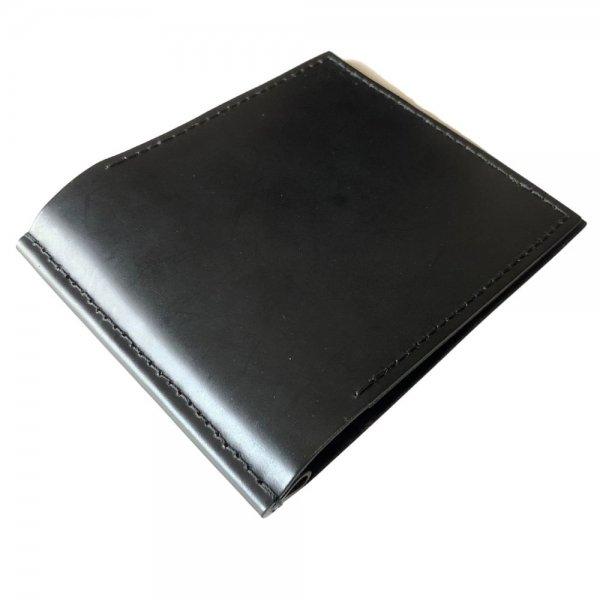 受注Order! Galuchattail & MITSUNORI AOYAGI コードバン (牛革) ブラック 札入れ メインイメージ