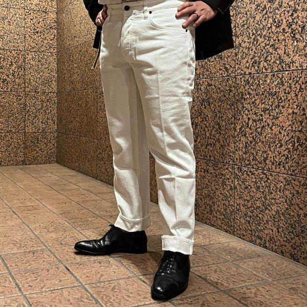 YCHAI (イカイ) /  ホワイト / ROBUSTO (ロブスト) 5ポケットパンツ