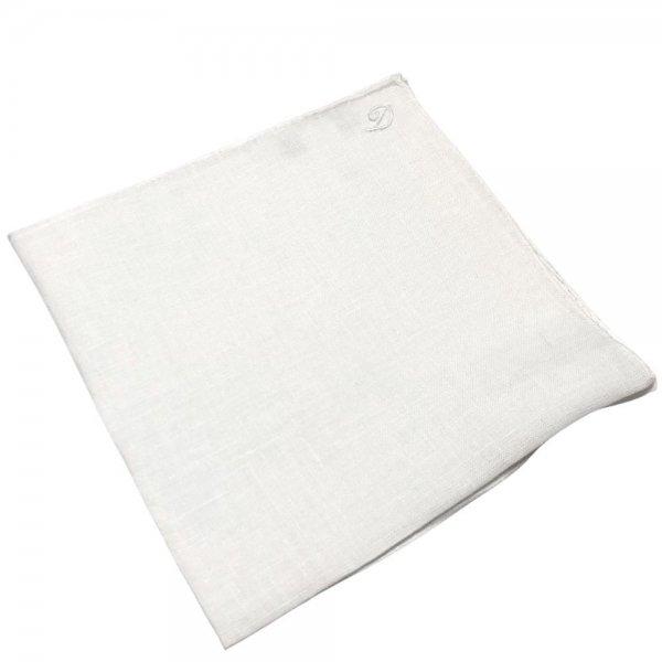 MUNGAI (ムンガイ) / ホワイト / ワンポイント刺繍 / D / ポケットチーフ メインイメージ