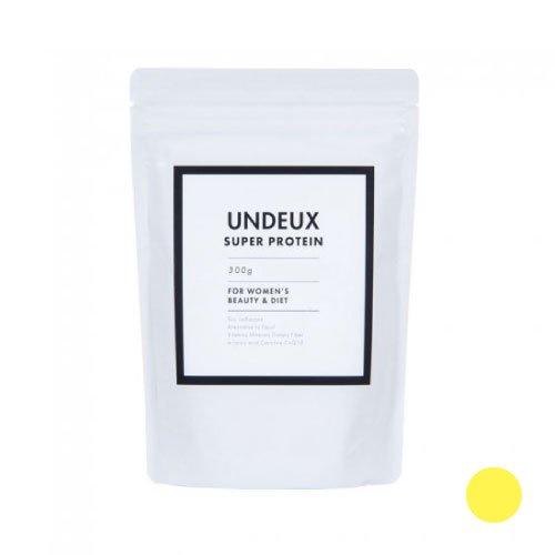 <span>高品質の原材料で安心<br>燃焼効果+女性のホルモンケア</span>UNDEUX(アンドゥ) 女性専用ソイプロテイン(レモンヨーグルト味)300g