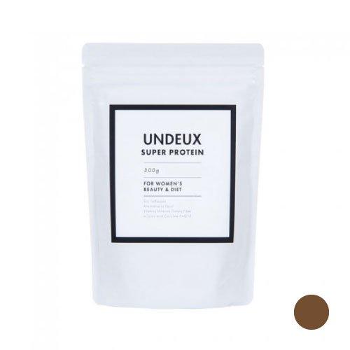 <span>高品質の原材料で安心<br>燃焼効果+女性のホルモンケア</span>UNDEUX(アンドゥ) 女性専用ソイプロテイン(チョコレート味) 300g