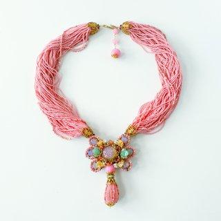 ノスタルジックpink Necklace