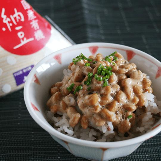 国産有機小粒納豆