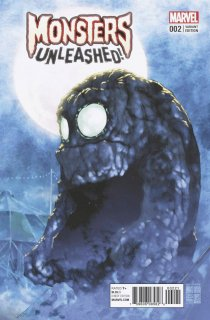 MONSTERS UNLEASHED #2 (OF 5) ASAMIYA VAR