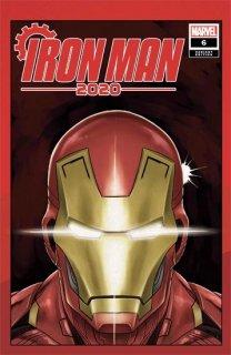 IRON MAN 2020 #6 (OF 6) SUPERLOG HEADS VAR【再入荷】