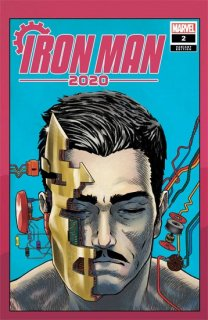 IRON MAN 2020 #2 (OF 6) SUPERLOG HEADS VAR【再入荷】