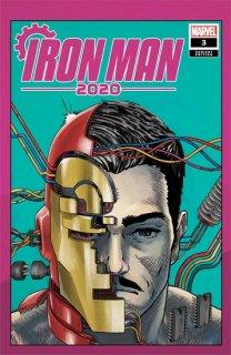 IRON MAN 2020 #3 (OF 6) SUPERLOG HEADS VAR【再入荷】