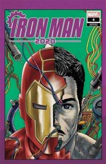 IRON MAN 2020 #4 (OF 6) SUPERLOG HEADS VAR【再入荷】