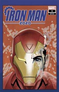 IRON MAN 2020 #5 (OF 6) SUPERLOG HEADS VAR【再入荷】