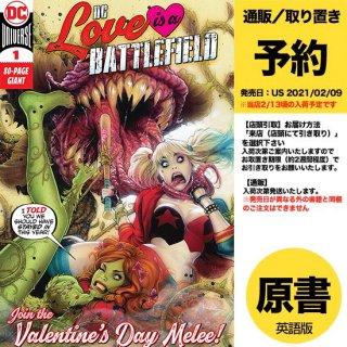 【予約】DC LOVE IS A BATTLEFIELD #1 (ONE SHOT)(US2021年02月09日発売予定)
