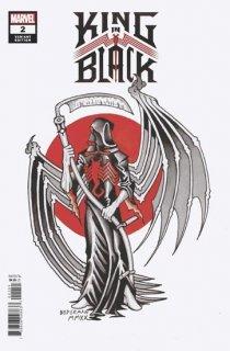 KING IN BLACK #2 (OF 5) BEDERMAN TATTOO VAR