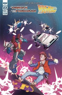 TRANSFORMERS BACK TO FUTURE #2 (OF 4) CVR B PHIL MURPHY