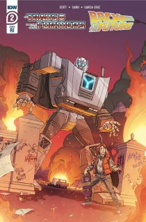 TRANSFORMERS BACK TO FUTURE #2 (OF 4) INCV SCHOENING
