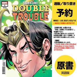 【予約】THOR AND LOKI DOUBLE TROUBLE #1 (OF 4) NAUCK HEADSHOT VAR(US2021年03月10日発売予定)