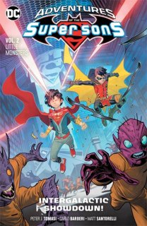 ADVENTURES OF THE SUPER SONS TP VOL 02 LITTLE MONSTERS【再入荷】