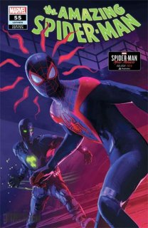 AMAZING SPIDER-MAN #55 HORTON SPIDER-MAN MILES MORALES VAR L