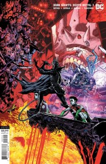 DARK NIGHTS DEATH METAL #7 (OF 7) INC 1:25 DOUG MAHNKE VAR