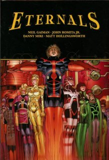 ETERNALS BY GAIMAN & ROMITA JR HC