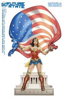 FUTURE STATE SUPERMAN OF METROPOLIS #1 (OF 2) CVR D WONDER WOMAN 1984 FRANK CHO CARD STOCK VAR