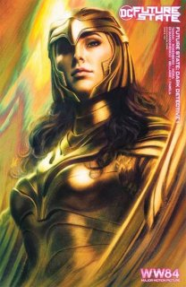 FUTURE STATE DARK DETECTIVE #1 (OF 4) CVR C WONDER WOMAN 1984 STANLEY ARTGERM LAU CARD STOCK VAR
