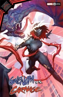 KING IN BLACK GWENOM VS CARNAGE #1 (OF 3) RYAN BROWN VAR