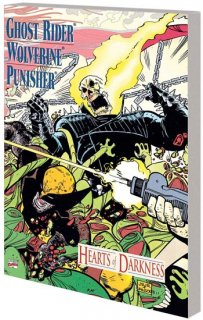 GHOST RIDER WOLVERINE PUNISHER TP HEARTS OF DARKNESS【再入荷】