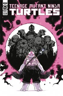 TMNT ONGOING #113 CVR A SOPHIE CAMPBELL