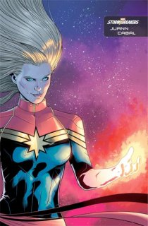 CAPTAIN MARVEL #25 CABAL STORMBREAKERS VAR