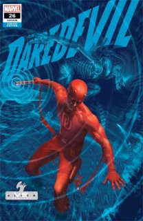 DAREDEVIL #26 RAHZZAH MARVEL VS ALIEN VAR KIB