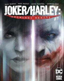 JOKER HARLEY CRIMINAL SANITY #7 (OF 8) CVR A FRANCESCO MATTINA