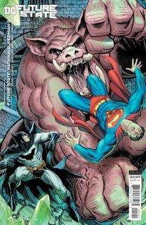 FUTURE STATE BATMAN SUPERMAN #2 (OF 2) CVR B ARTHUR ADAMS CARD STOCK VAR