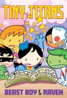 TINY TITANS BEAST BOY & RAVEN TP【再入荷】