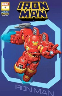 IRON MAN #6 BROWN AVENGER MECH STRIKE VAR