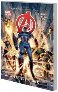 AVENGERS TP VOL 01 AVENGERS WORLD【再入荷】