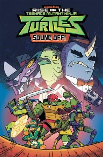 TMNT RISE OF THE TMNT TP VOL 03 SOUND OFF【再入荷】