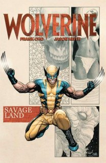 WOLVERINE BY FRANK CHO TP SAVAGE LAND【再入荷】