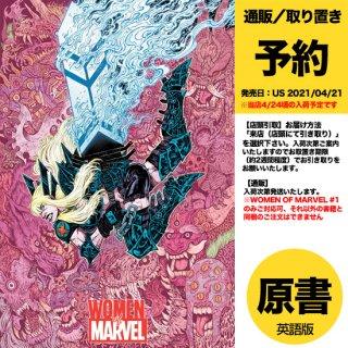【予約】WOMEN OF MARVEL #1 WOLF VAR(US2021年04月21日発売予定)