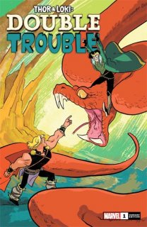 THOR AND LOKI DOUBLE TROUBLE #1 (OF 4) HENDERSON VAR