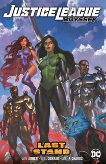 JUSTICE LEAGUE ODYSSEY VOL 04 LAST STAND TP