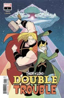 THOR AND LOKI DOUBLE TROUBLE #1 (OF 4)【再入荷】
