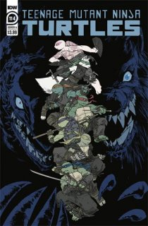 TMNT ONGOING #114 CVR A SOPHIE CAMPBELL【再入荷】