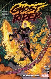 GHOST RIDER TP VOL 01 KING OF HELL【再入荷】