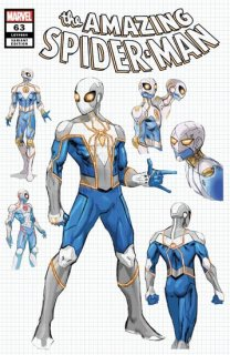 AMAZING SPIDER-MAN #63 WEAVER DESIGN VAR