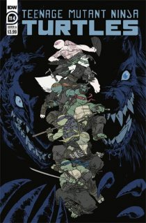 TMNT ONGOING #114 CVR A SOPHIE CAMPBELL【遅延入荷】