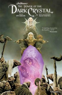 JIM HENSON POWER OF DARK CRYSTAL TP VOL 01【再入荷】