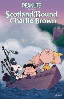 PEANUTS SCOTLAND BOUND CHARLIE BROWN OGN SC