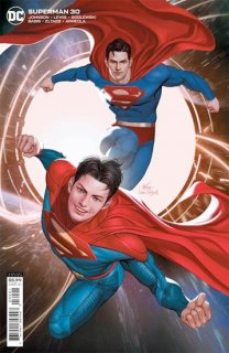 SUPERMAN #30 CVR B INHYUK LEE CARD STOCK VAR