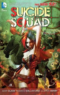 SUICIDE SQUAD TP VOL 01 KICKED IN THE TEETH 【再入荷】