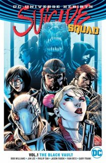 SUICIDE SQUAD TP VOL 01 THE BLACK VAULT (REBIRTH)【再入荷】