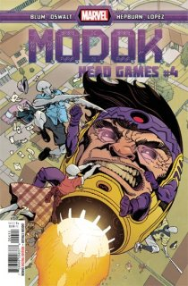 MODOK HEAD GAMES #4 (OF 4)